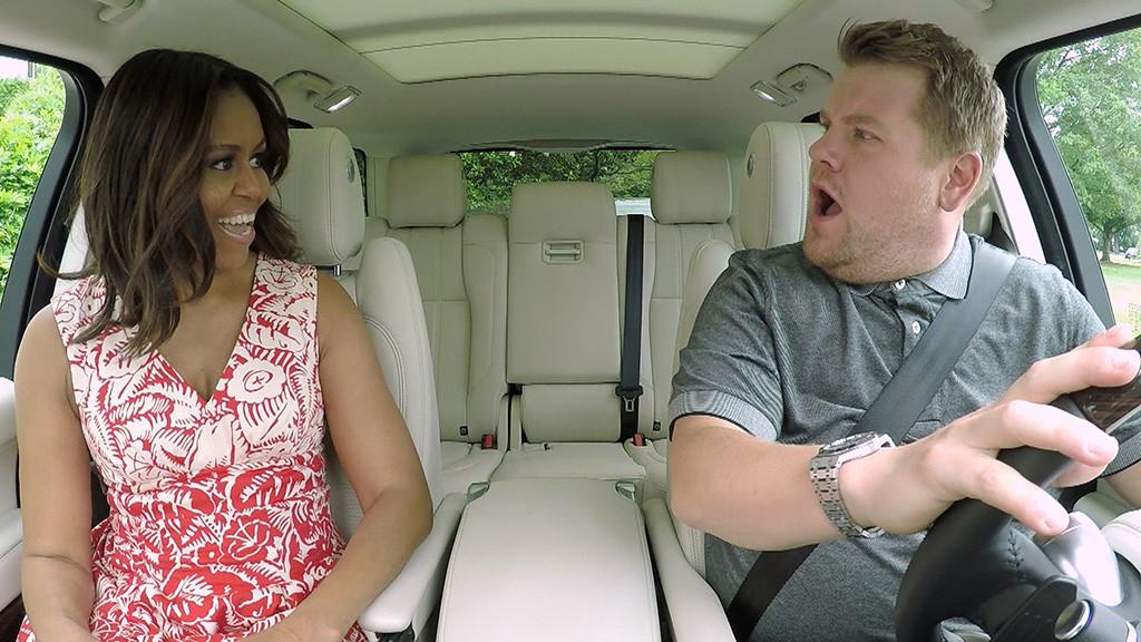 Michelle Obama, James Corden, Carpool Karaoke