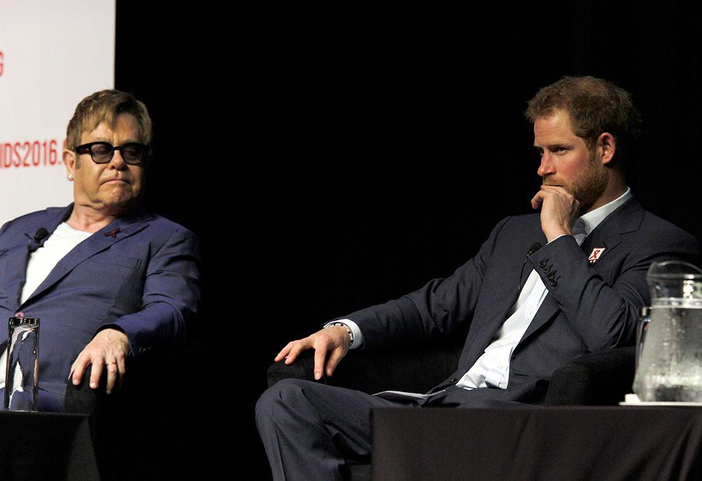 Prince Harry, Elton John
