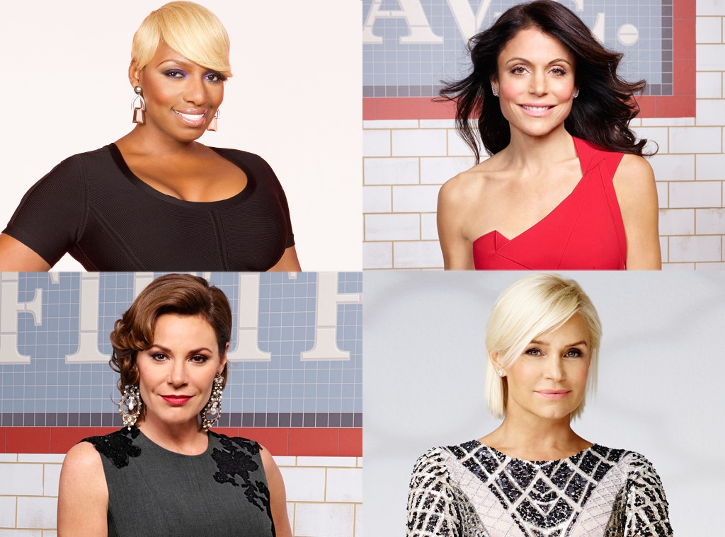 Real Housewives, Nene, Bethenny, LuAnn, Yolanda