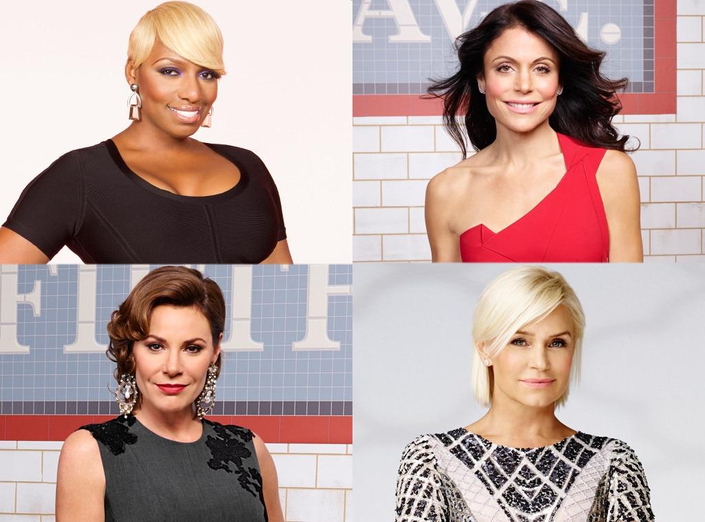 Real Housewives, Nene, Bethenny, LuAnn, Yolanda