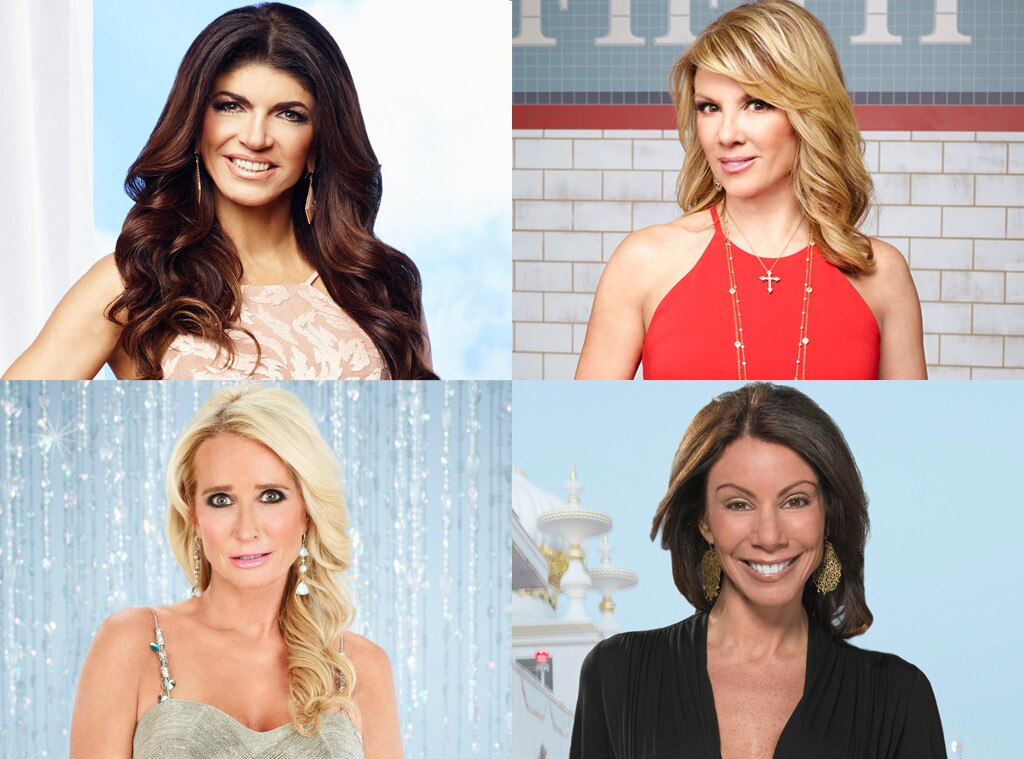 Real Housewives, Teresa, Ramona, Kim, Danielle
