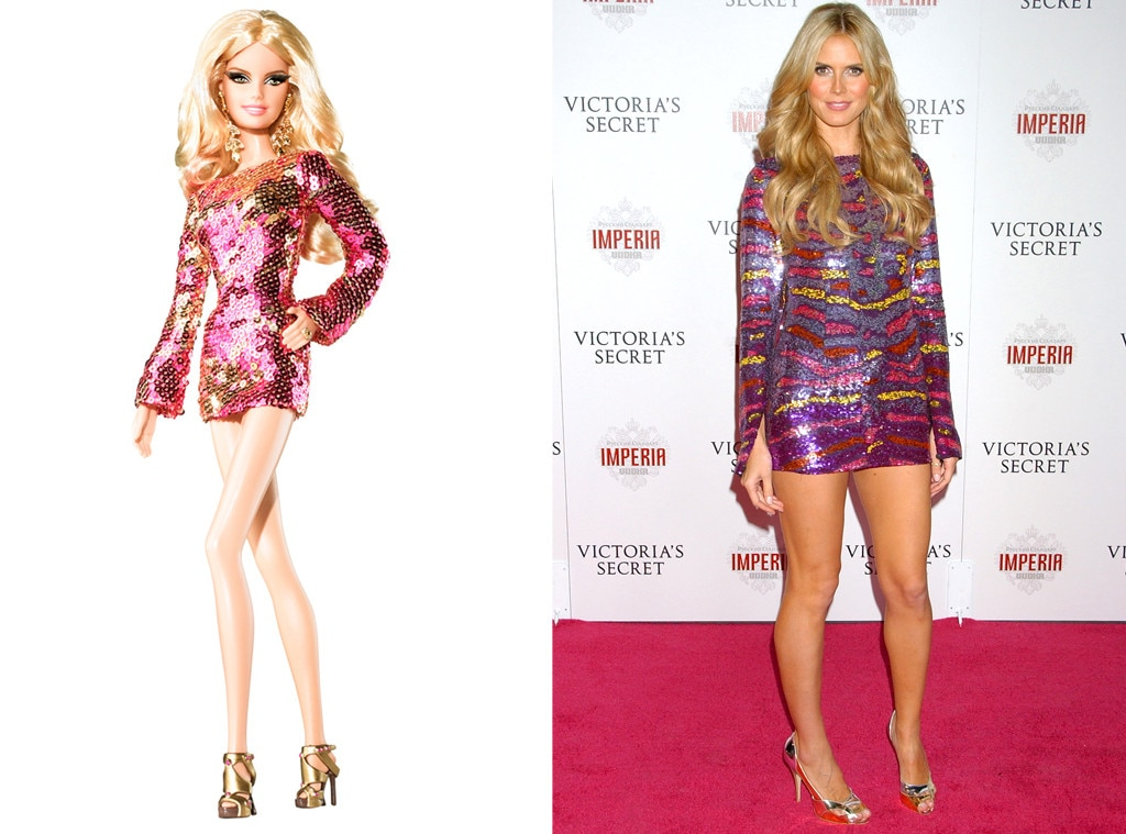 Heidi Klum, Barbie