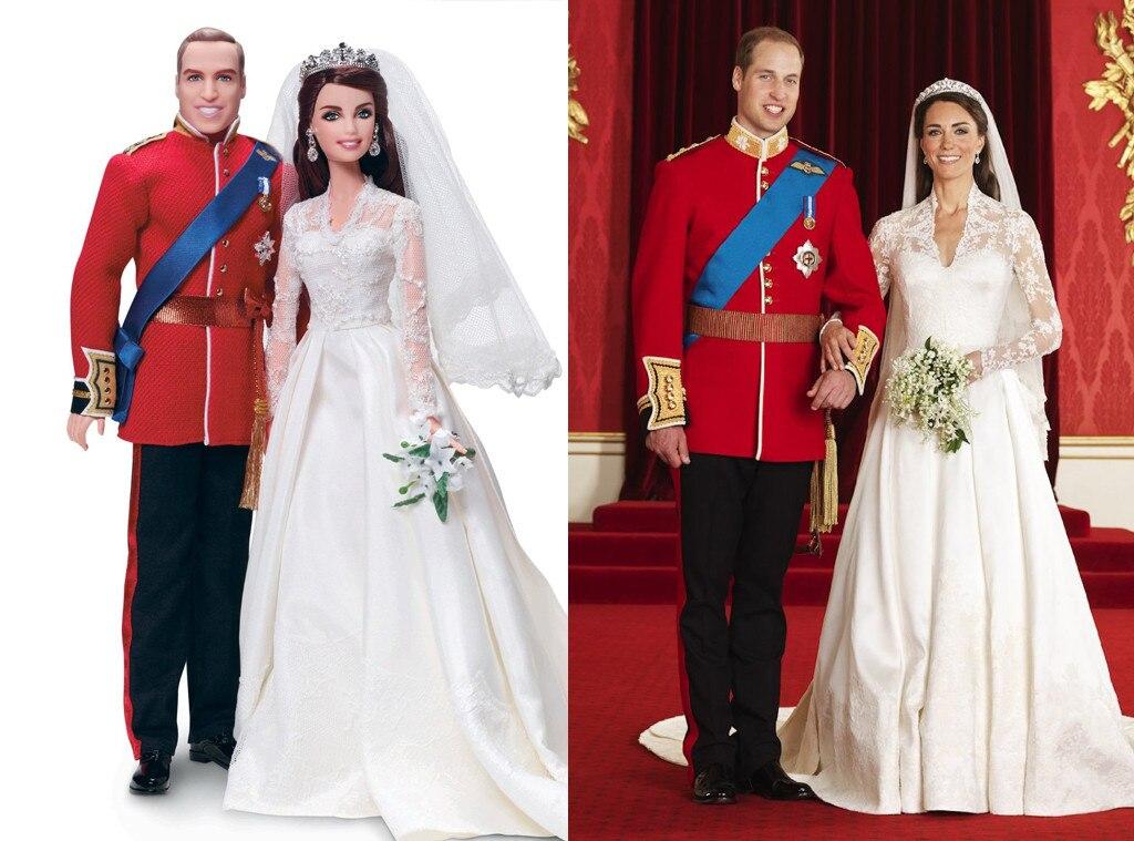 Kate Middleton, Prince William, Barbie