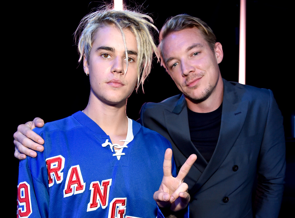 Justin Bieber, Diplo, iHeartRadio Music Awards 2016