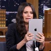 Mila Kunis, Jimmy Fallon, The Tonight Show