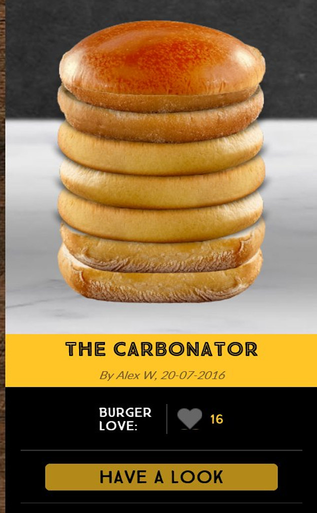 mcdonald s let the internet create their own burgers and it was a