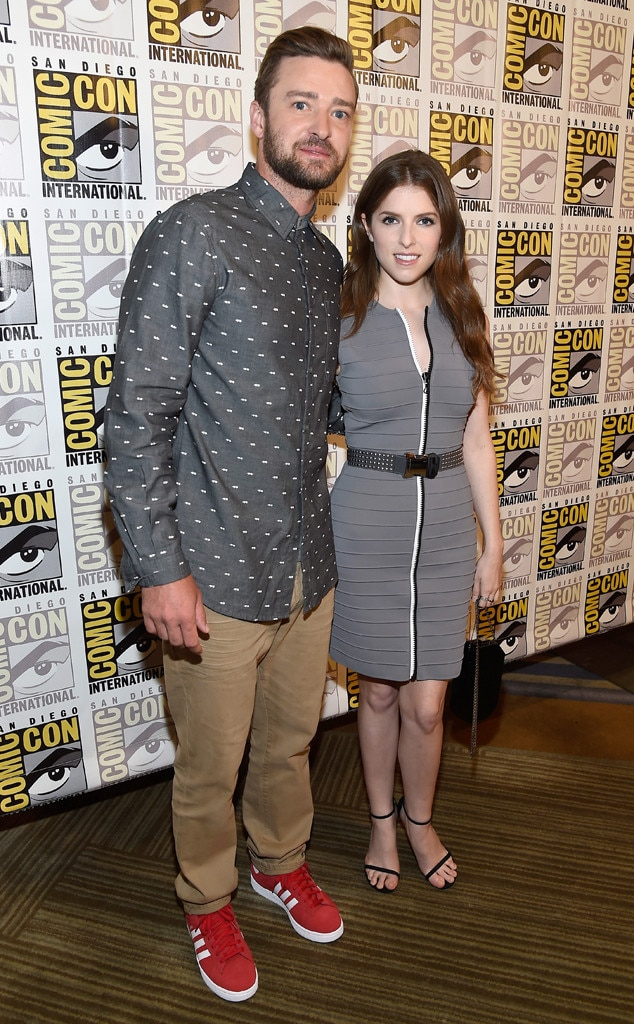 Justin Timberlake, Anna Kendrick, 2016 Comic-Con