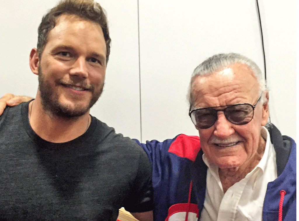 Chris Pratt, Stan Lee