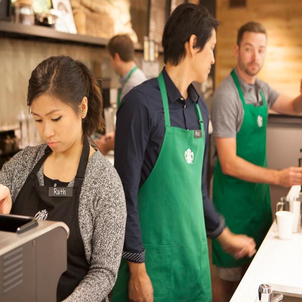 Bye Khakis Starbucks Uniforms Just Got The Hipster