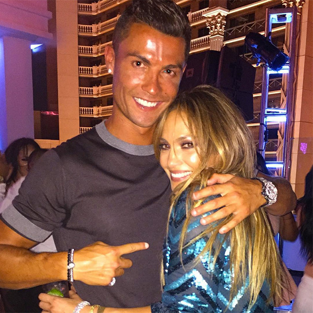 Cristiano Ronaldo Jennifer Lopez