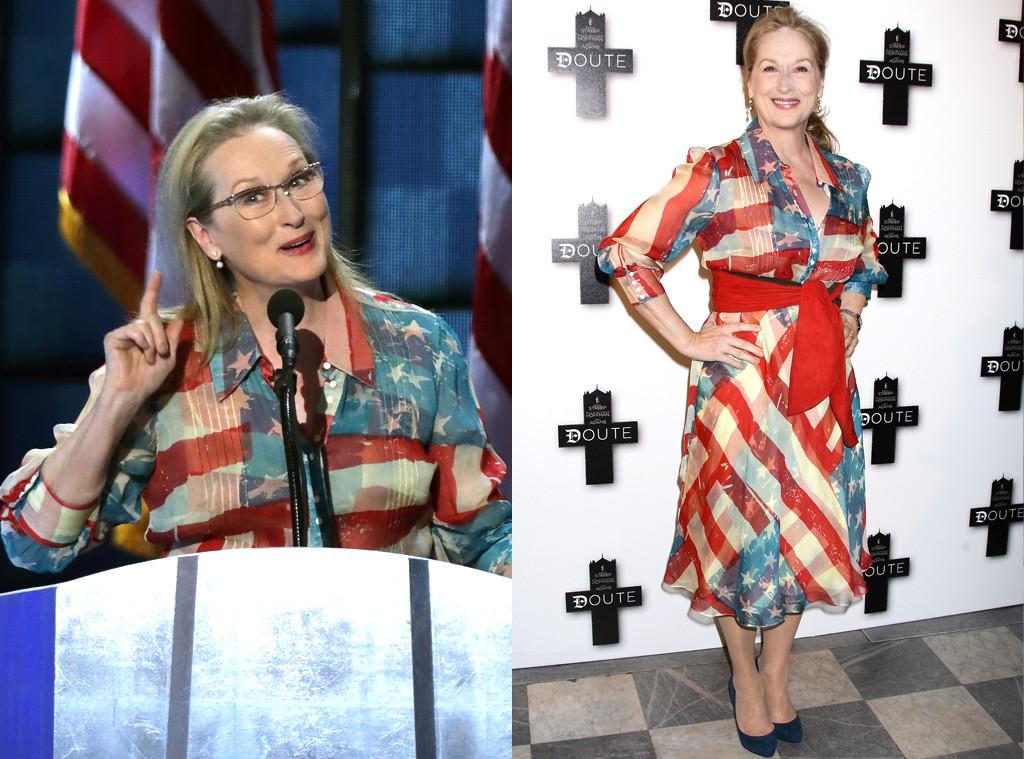 Meryl Streep, Dress, Democratic National Convention