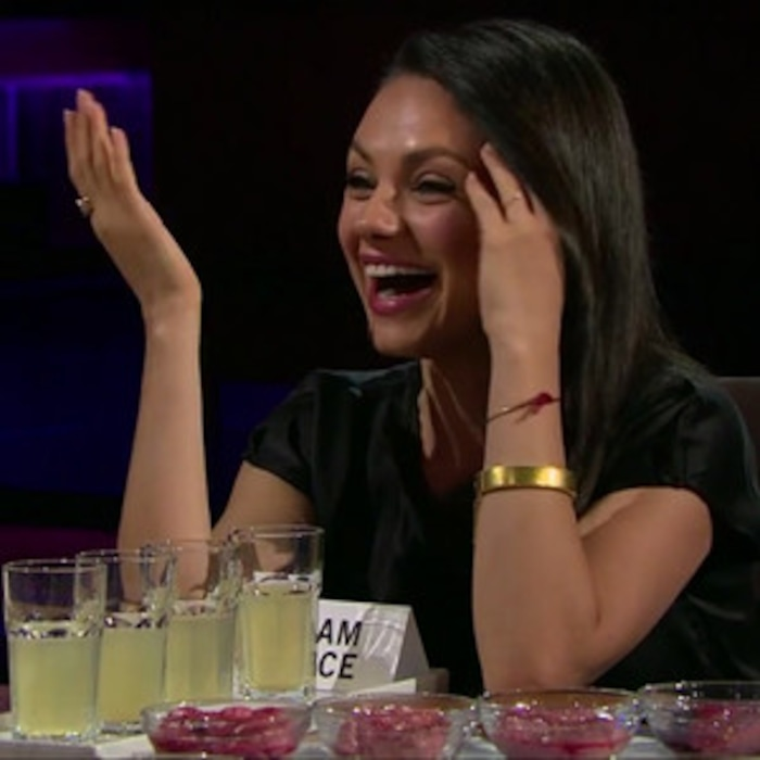 Mila Kunis Asked to Describe Ashton Kutcher's Penis: Carrot Stick or Beer  Can? | E! News
