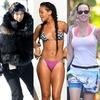 Kim Kardashian, Rihanna, Katy Perry, Vacation