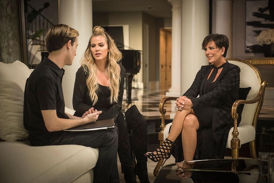 Tyler Henry, Khloe Kardashian, Kris Jenner