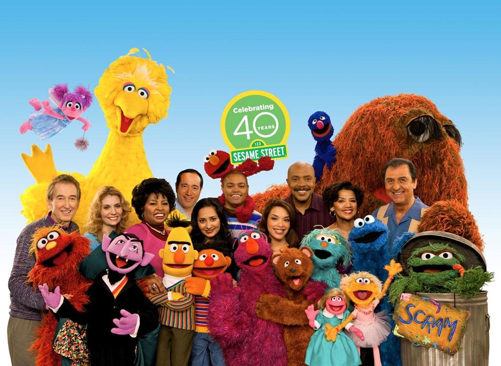 Sesame Street Cast, 40 year anniversary