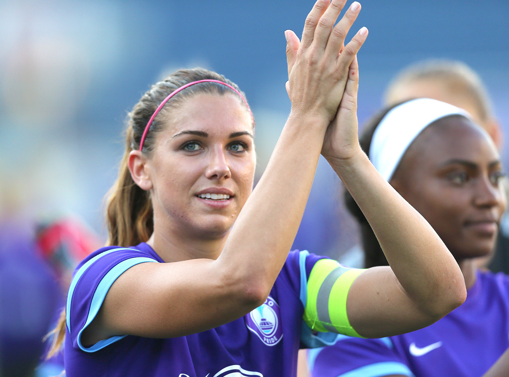 Alex Morgan, Buzzed About Olympians