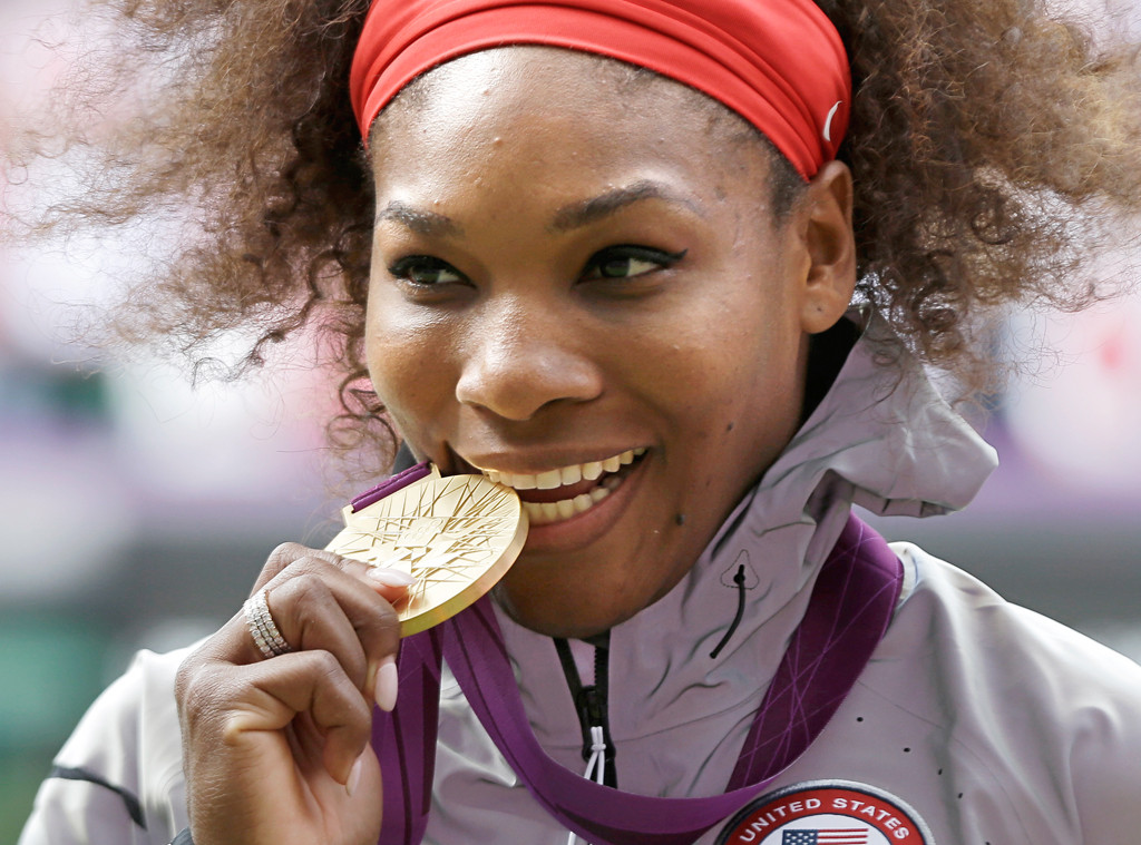 Serena Williams, Buzzed About Olympians
