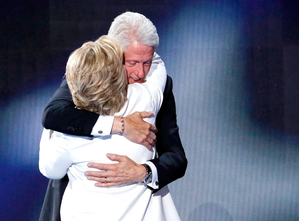 Bill Clinton, Hillary Clinton, Democratic National Convention 2016, DNC 2016