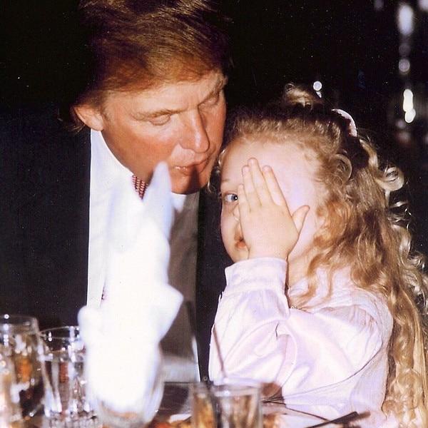 Donald Trump, Tiffany Trump, TBT