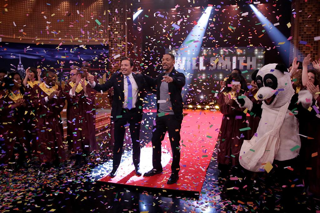Will Smith, Jimmy Fallon, The Tonight Show