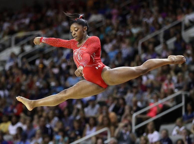 Simone Biles, Olympic Hot Bods