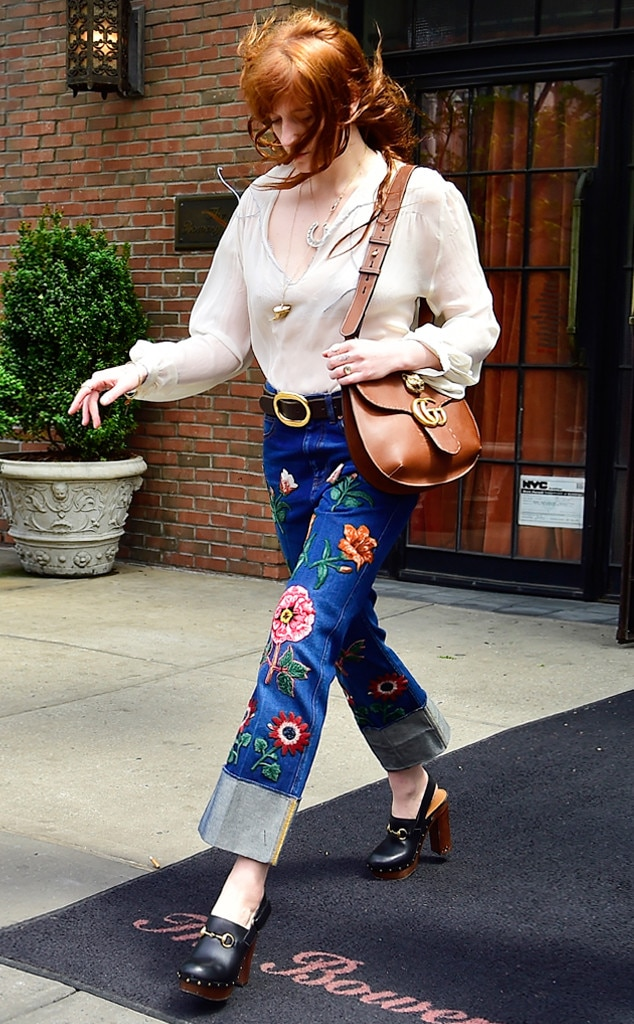 ESC: Embroidered Denim, Florence Welch