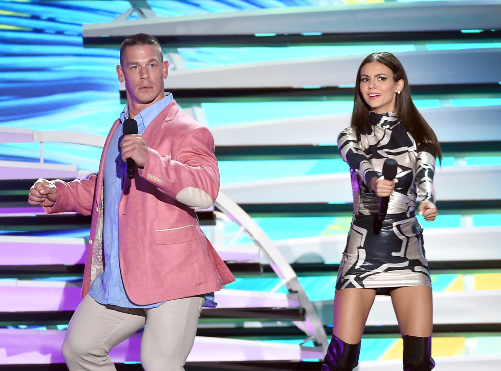 John Cena, Victoria Justice, 2016 Teen Choice Awards