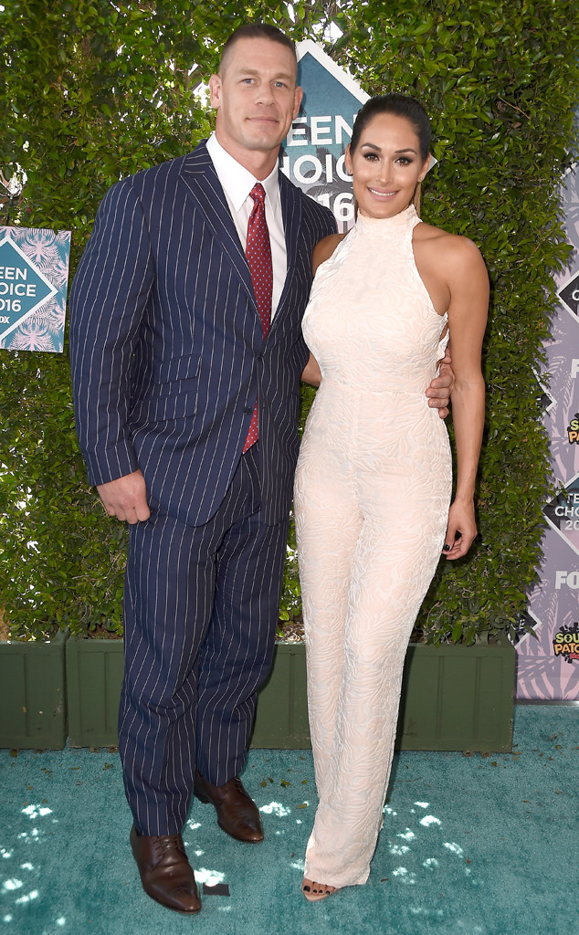 John Cena, Nikki Bella, 2016 Teen Choice Awards