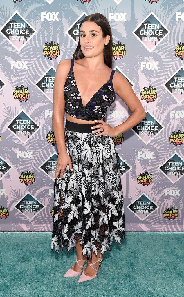 Lea Michele , 2016 Teen Choice Awards