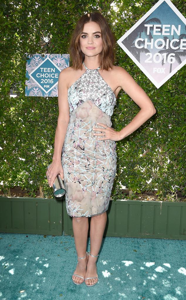 Lucy Hale, 2016 Teen Choice Awards