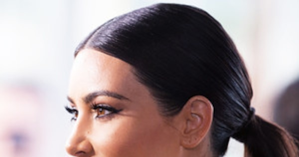 How Celebs Fake The Perfect Hairlineyes, Even Kim -2045