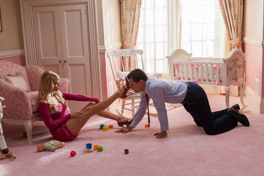 The Wolf of Wall Street, Margot Robbie, Leonardo DiCaprio