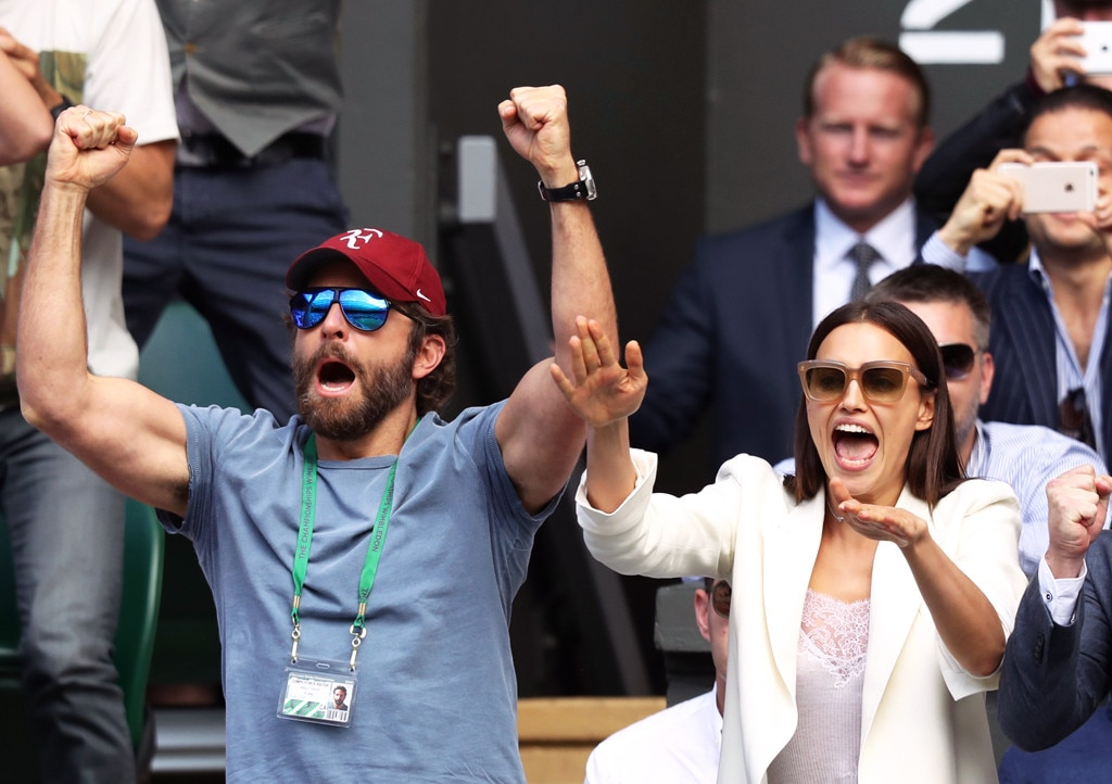 A Perfect Match -  The two lovebirds attended day nine of the Wimbledon Tennis Championships in London in July 2016.