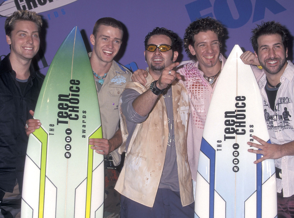 Justin Timberlake, Teen Choice Awards