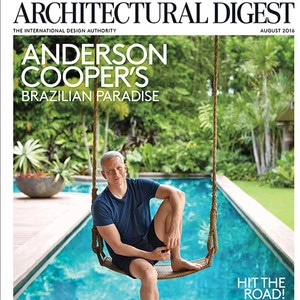 Anderson Cooper, Architectural Digest