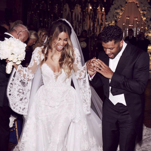 Russell Wilson, Ciara, Wedding
