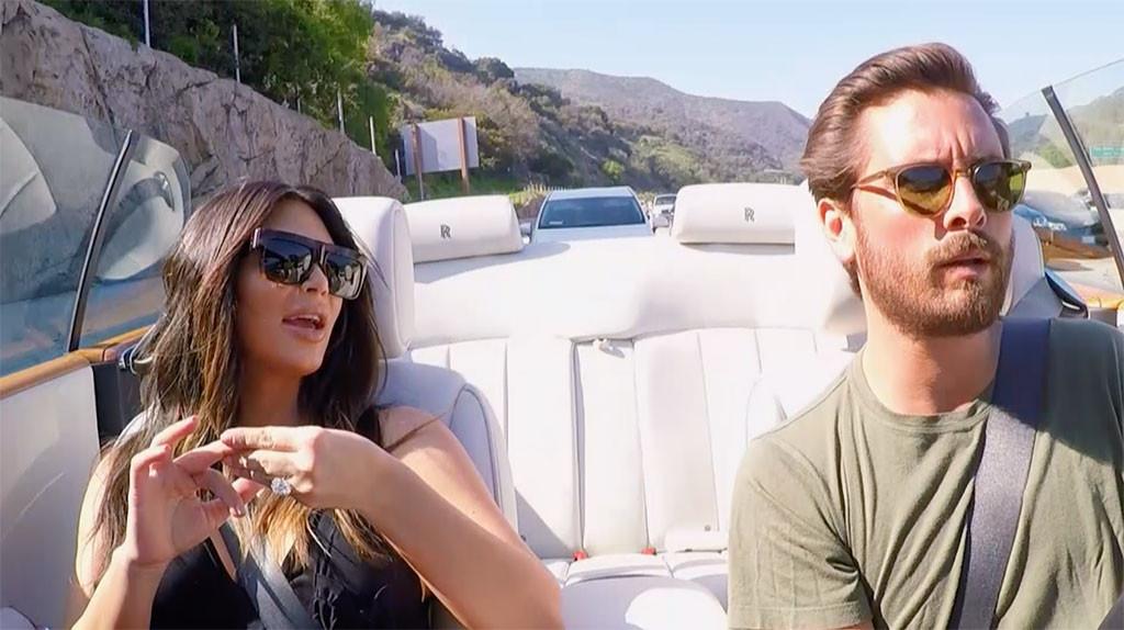 Kim Kardashian, Scott Disick, KUWTK