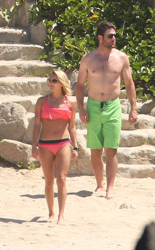 Carrie Underwood, Bikini, Mike Fisher, Beach