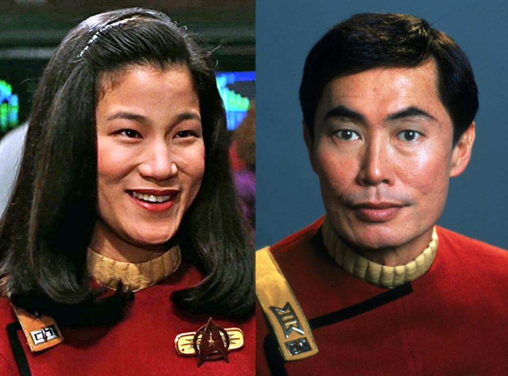Jacqueline Kim, George Takei, Star Trek