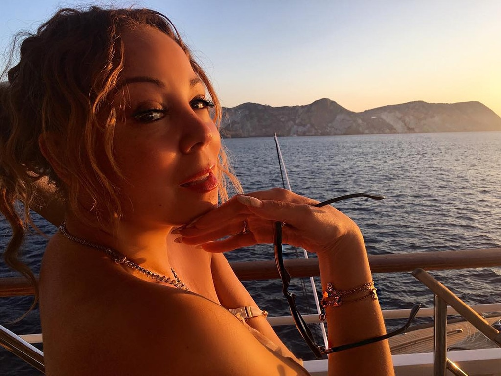Close Up From Mariah Carey Amp James Packer S Italian Vacation