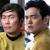 John Cho, George Takei, Star Trek