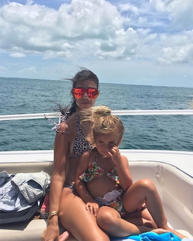 Kourtney Kardashian, Penelope Disick, Miami