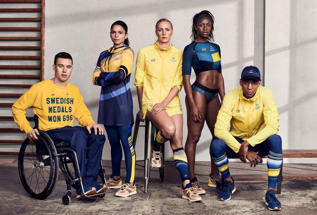 ESC: Olympic Team Kits, Sweden