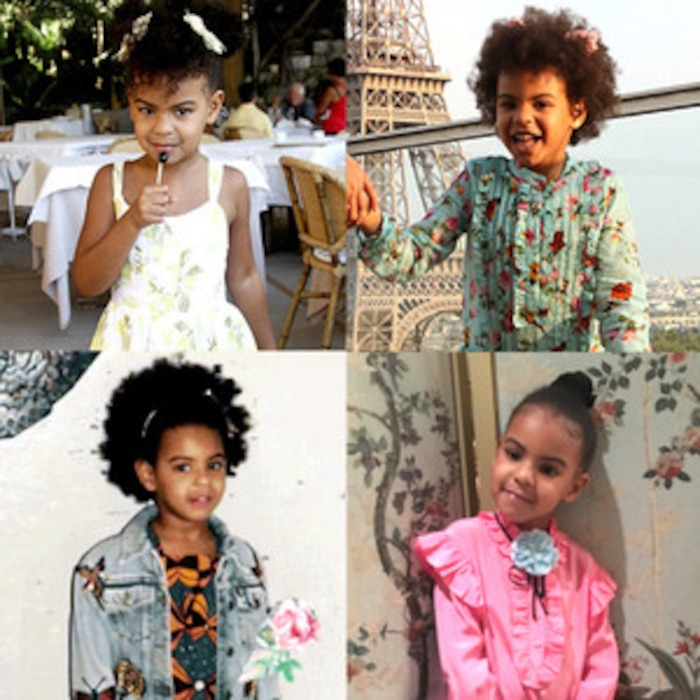 c8393eca0 Inside Blue Ivy's Fashionable Closet: From a $860 Gucci Jacket to a $10  Target Dress | E! News Canada