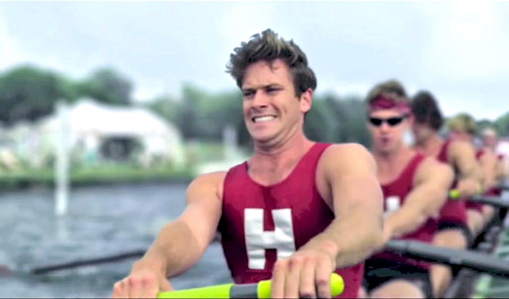 Celebs as Olympians, Armie Hammer