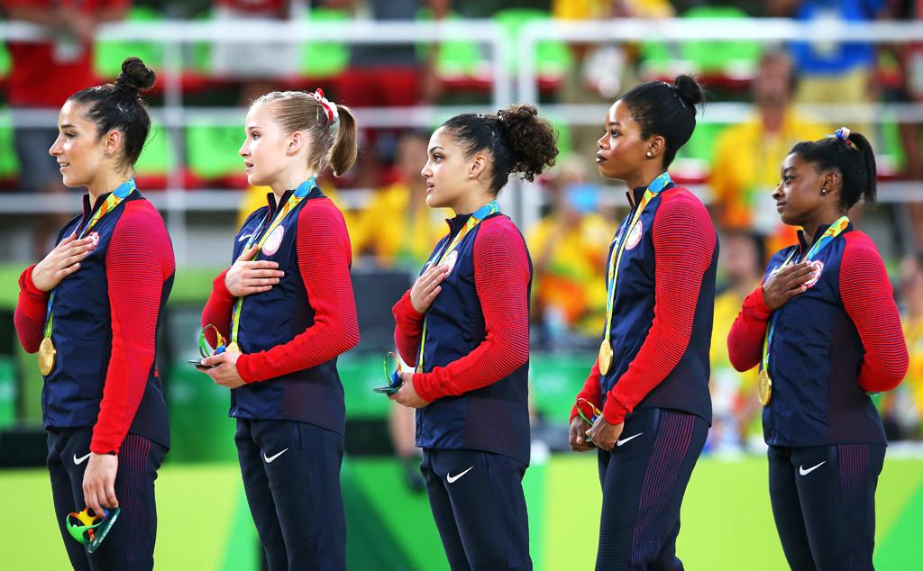 Gymnastics Women's Team, 2016 Rio, Olympics