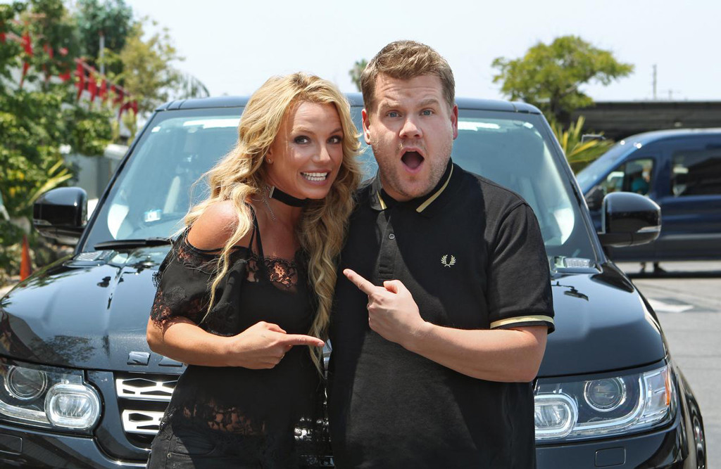 Britney Spears, James Corden, Carpool Karaoke