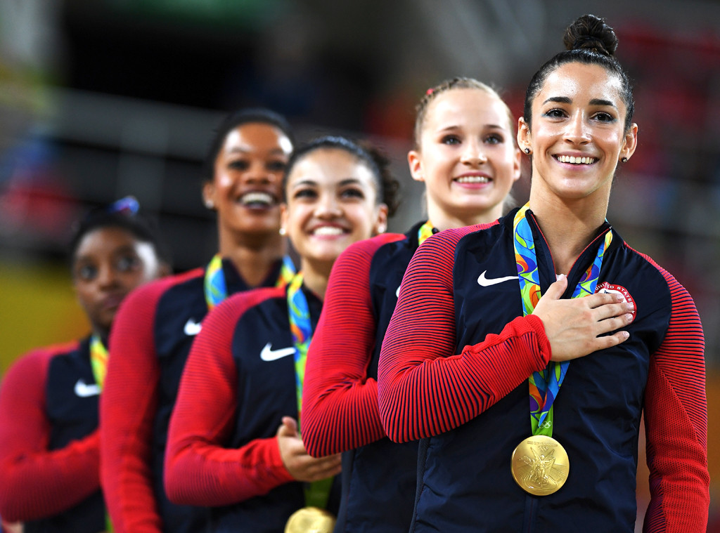 Gymnastics Women's Team, 2016 Rio, Olympics