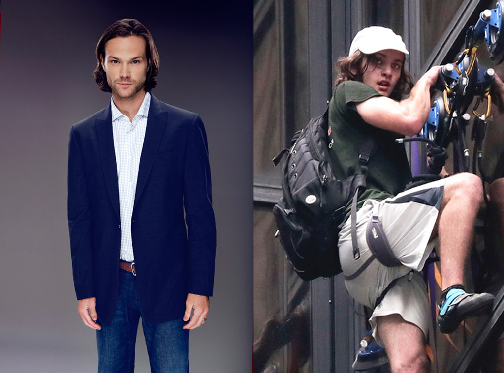 Trump Tower Climber, Jared Padalecki