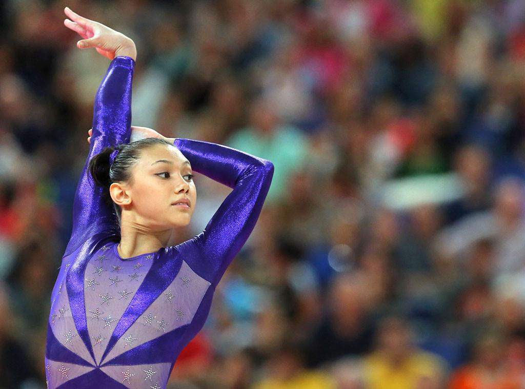 Kyla Ross, Olympians watching Olympics